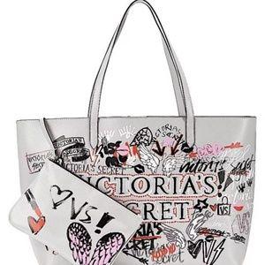 Victoria's Secret Graffiti Everything Tote